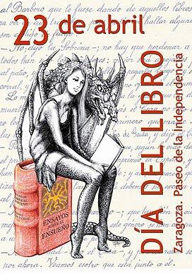Los homenajes del cartel del Día del Libro