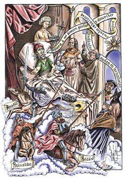 Ilustrado Don Quijote en la web del Centro Virtual Cervantes