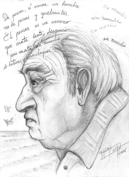 Julio Alejandro en la revista Barataria