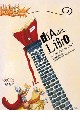 DeCIDe leer: cartel del Día del Libro