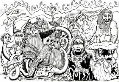 Aragón Misterioso: leyendas y dibujos