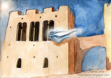 Aragón Misterioso y la fantasma
